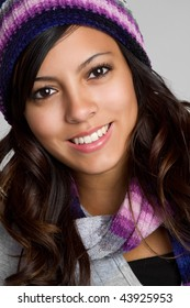 Smiling Winter Latina