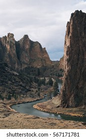 Smith Rock State Park in Oregon, U.S.A.