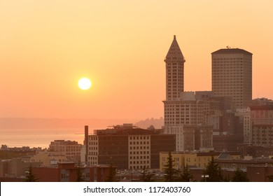 Smith Tower at downtown, Seattle, Washington State, USA