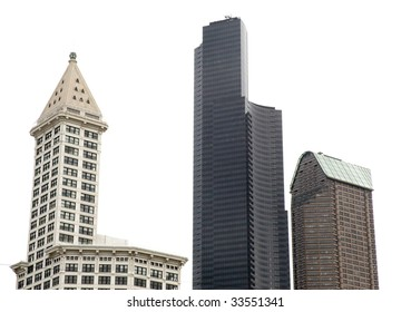 Smith Tower and skyline