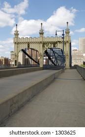 Smithfield Street Bridge in Pittsburgh