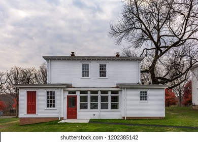SMITHVILLE, NEW JERSEY - NOVEMBER 16 - A turn of the 19th century home after renovations on November 16 2016 in historic Smithville Village in Burlington County NJ.