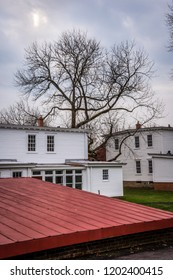 SMITHVILLE, NEW JERSEY - NOVEMBER 16 - Historic buildings from the turn of the 19th century on November 16 2016 in historic Smithville Village in Burlington County NJ.