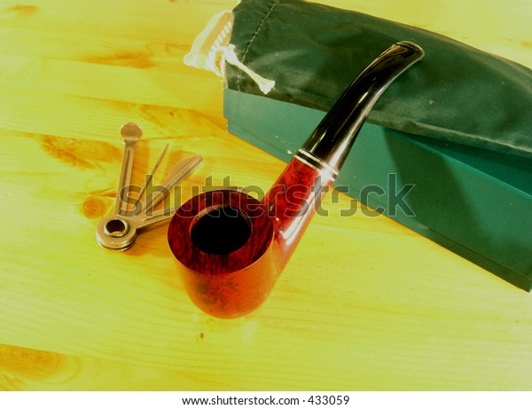 Smocking Pipe Set 1 Set Equipment Stock Photo (Edit Now) 433059