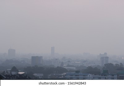 Smog and dust situation in Chiang Mai, thailand during February, November 13, 2019 at 6:23 am in PM 2.5 is over 100. Very dangerous to the people of Chiang Mai Must hurry to take urgent action.
