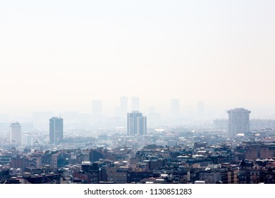 Smog on the city