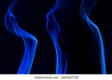 smoke abstract image