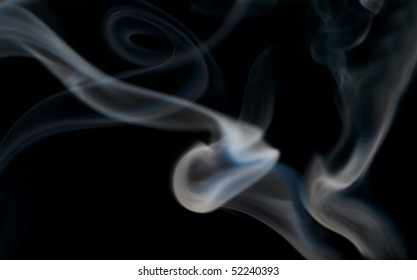 smoke against black background, use as background