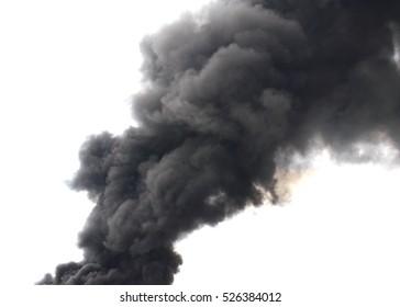 Smoke atmosphere black