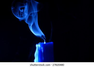 smoke from candle