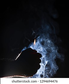 Smoke is colloidal. Particles of solid or liquid ... Smoke is also a component of exhaust emissions from internal combustion engines. Especially the diesel exhaust.