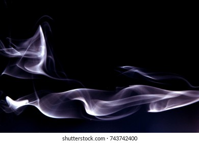 Smoke design as wallpaper / Smoke is a collection of airborne solid and liquid particulates and gases emitted when a material undergoes combustion
