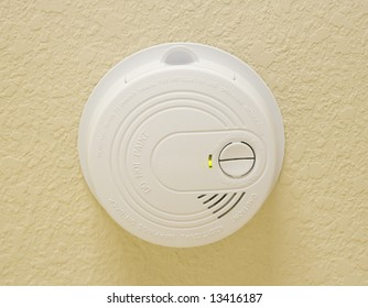 Smoke Detector on finished ceiling