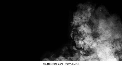 smoke effect stock image