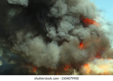 smoke fire background explosion flame heat danger destruction disaster