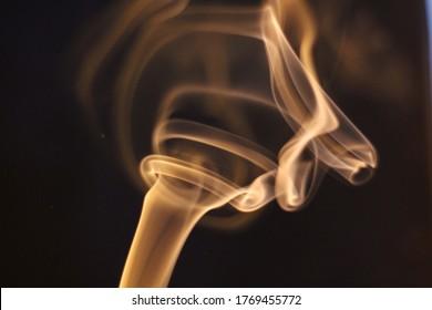 smoke incense meditation abstract background spiritual background ritual aroma