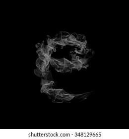 Smoke letter E.