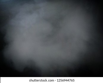 Smoke from the smoke machine