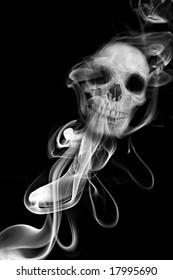 Smoke Skull - Smoking kills