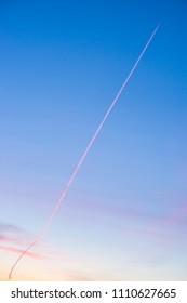 Smoke in the sky