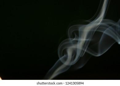smoke texture on black background