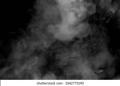 Smoke white background black blur