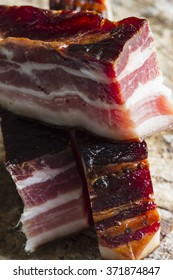 Smoked bacon from the Black Forest