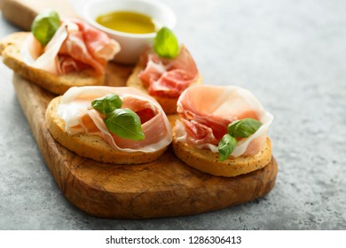 Smoked meat appetizers