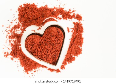 Smoked Paprika in a Heart Shape