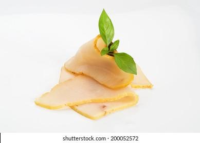 Smoked swordfish