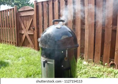 Smoker fired up