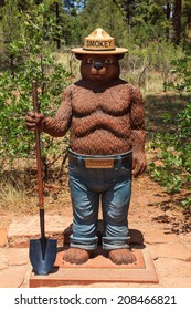 Smokey Bear Kaibab National Forest Tusayan Arizona