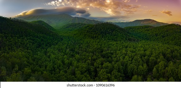 Smokey Mountain National Park sunrise
