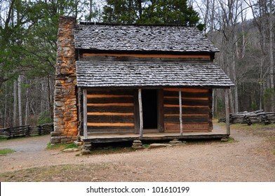 Smokey Mountains Cades Cove - Old House