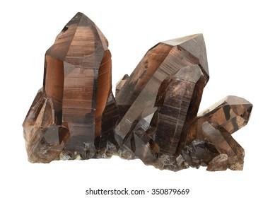 Smokey quartz from Galmihorn, Wallis, Switzerland.