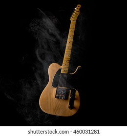 Smokey Telecaster style guitar