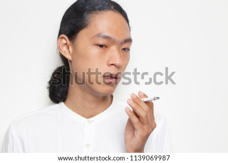 All asian men smoke