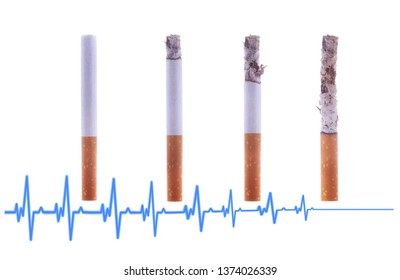 Smoking is deadly to health. Kill yourself or quit smoking concept. World No Tobacco Day.