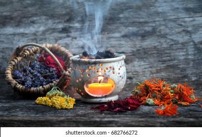 smoking herbs