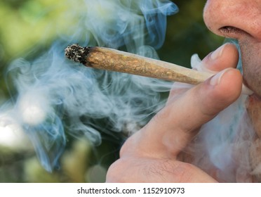 Smoking marijuana (weed, cannabis)