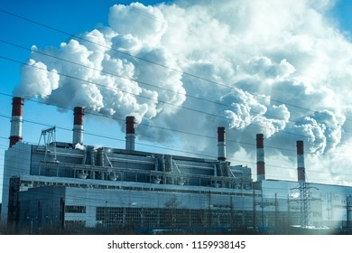 Smoking pipes of thermal power