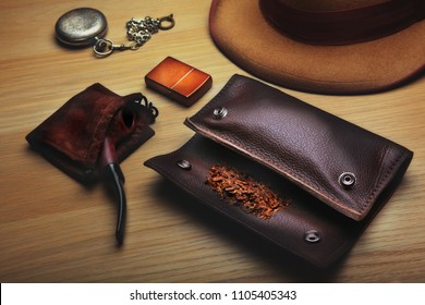 smoking tobacco pipe pouch