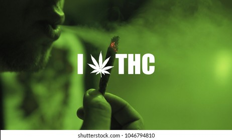 Smoking weed family. Mental and physical effects of marijuana THC