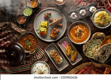 Smoky Indian Platter