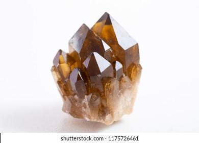 smoky quartz crystal mineral specimen gem stone quartz