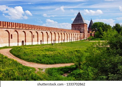 Smolensk fortress wall and Tower, Russia