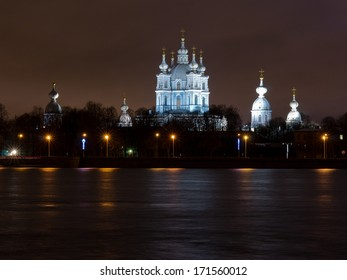 Smolny Cathedral in St. Petersburg