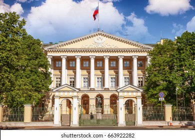 Smolny Institute, the Government of St. Petersburg, Russia