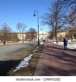 Smolny Institute, Palladian edifice in St Petersburg, Bolshevik headquarters during the October Revolution.