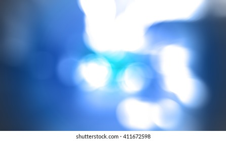 A smooth blue textured background.